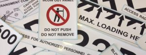 aerosigns aircraft placards